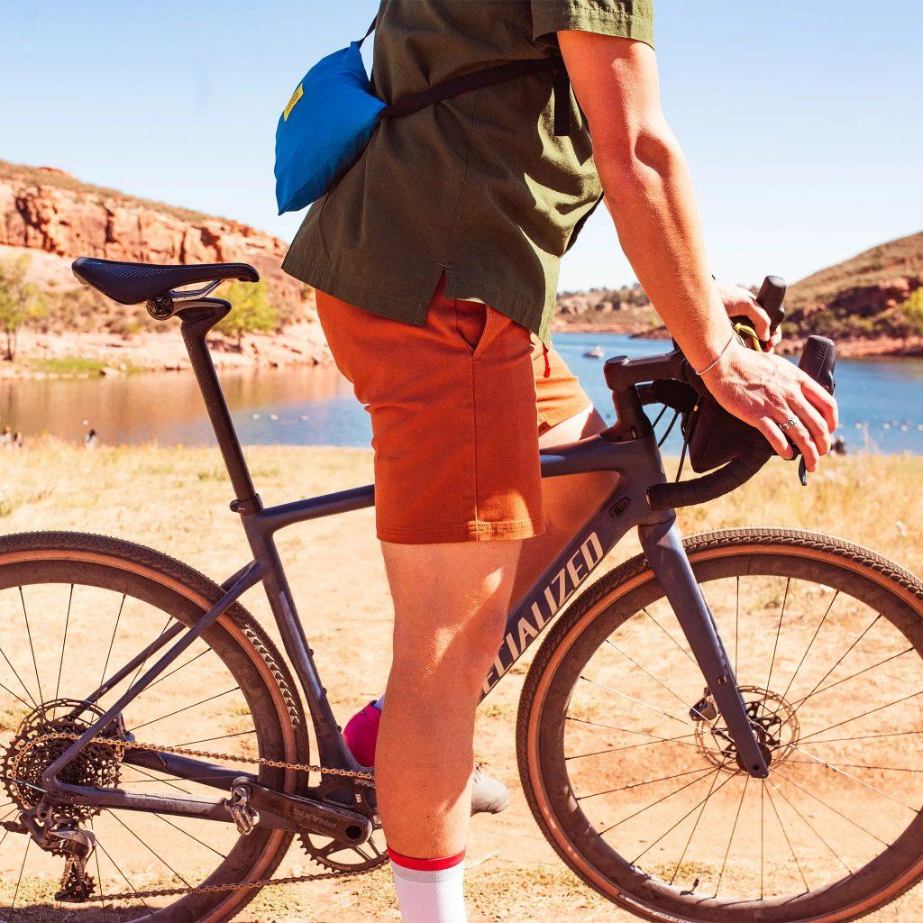 sortky na bicykel